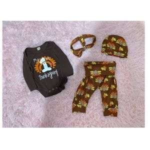 '1st Thanksgiving Unisex Outfit'